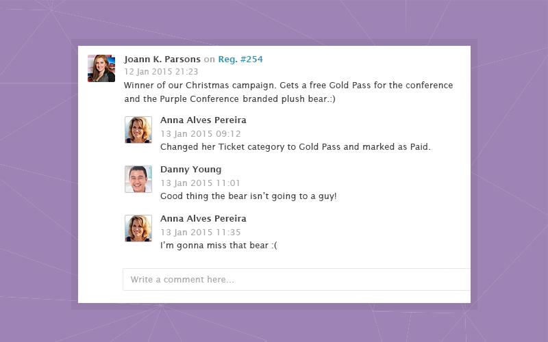 In-app team collaboration