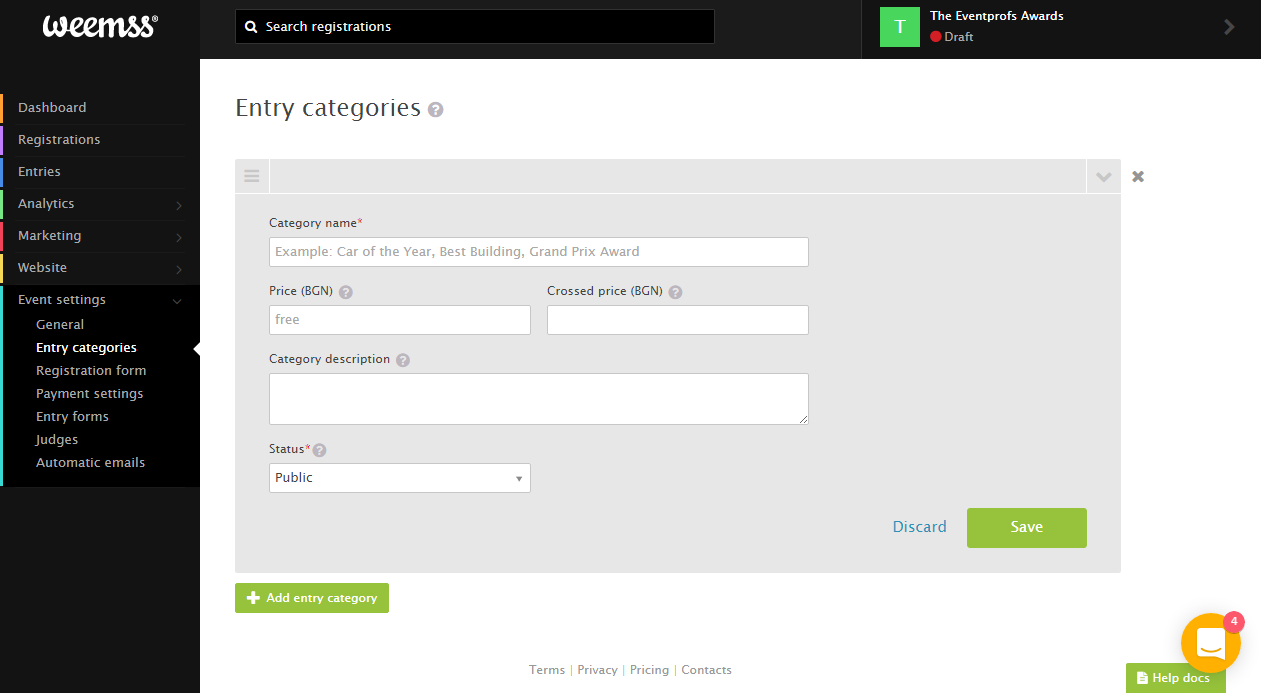 weemss-entry-categories