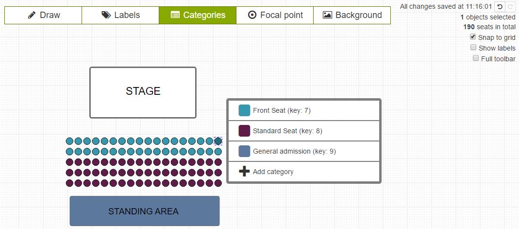 weemss-seating-categories