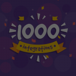Another milestone to kick off the new year – 1000 integrations